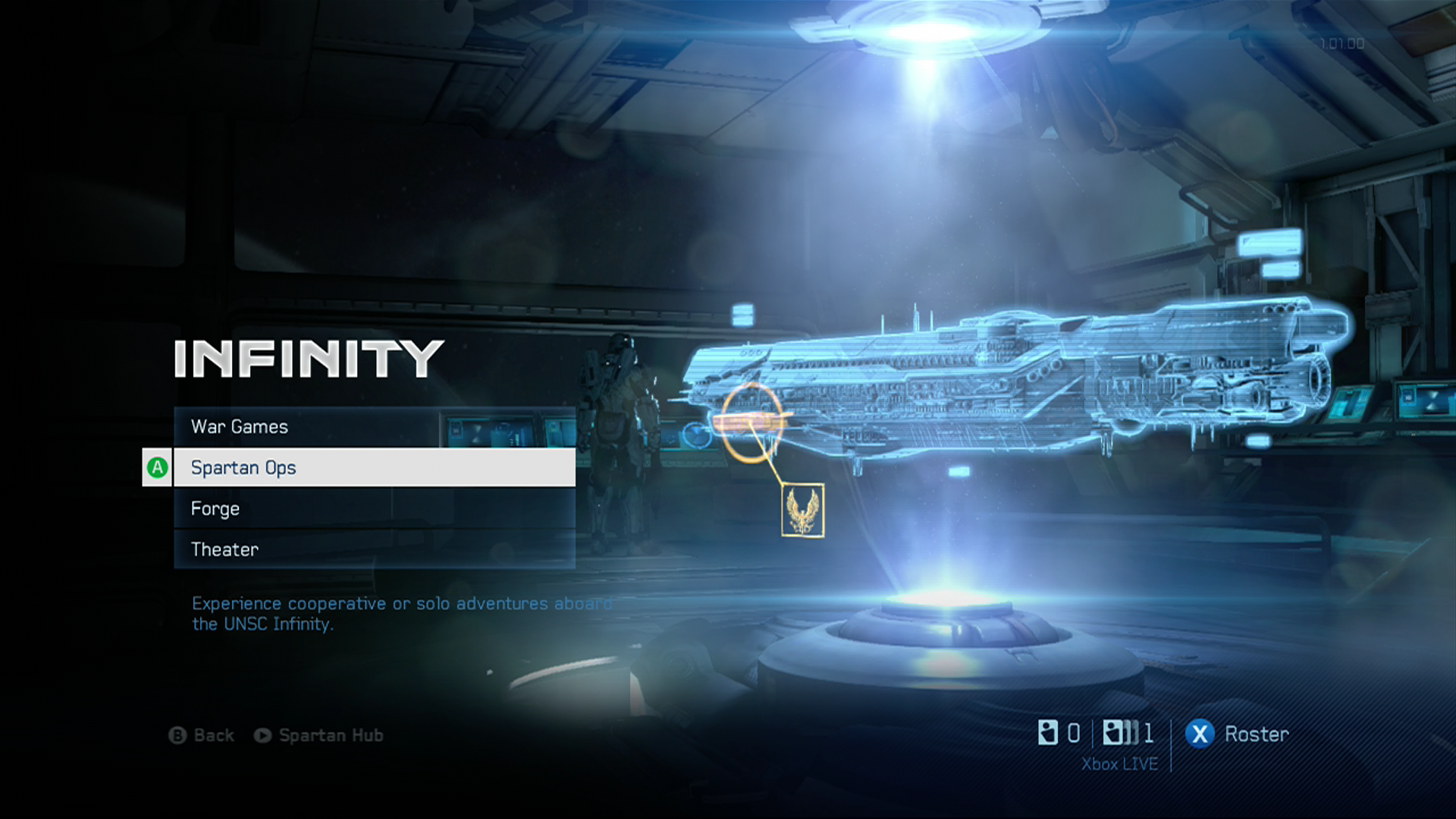 Halo 5: Guardians Multiplayer Beta Main Menu : halo