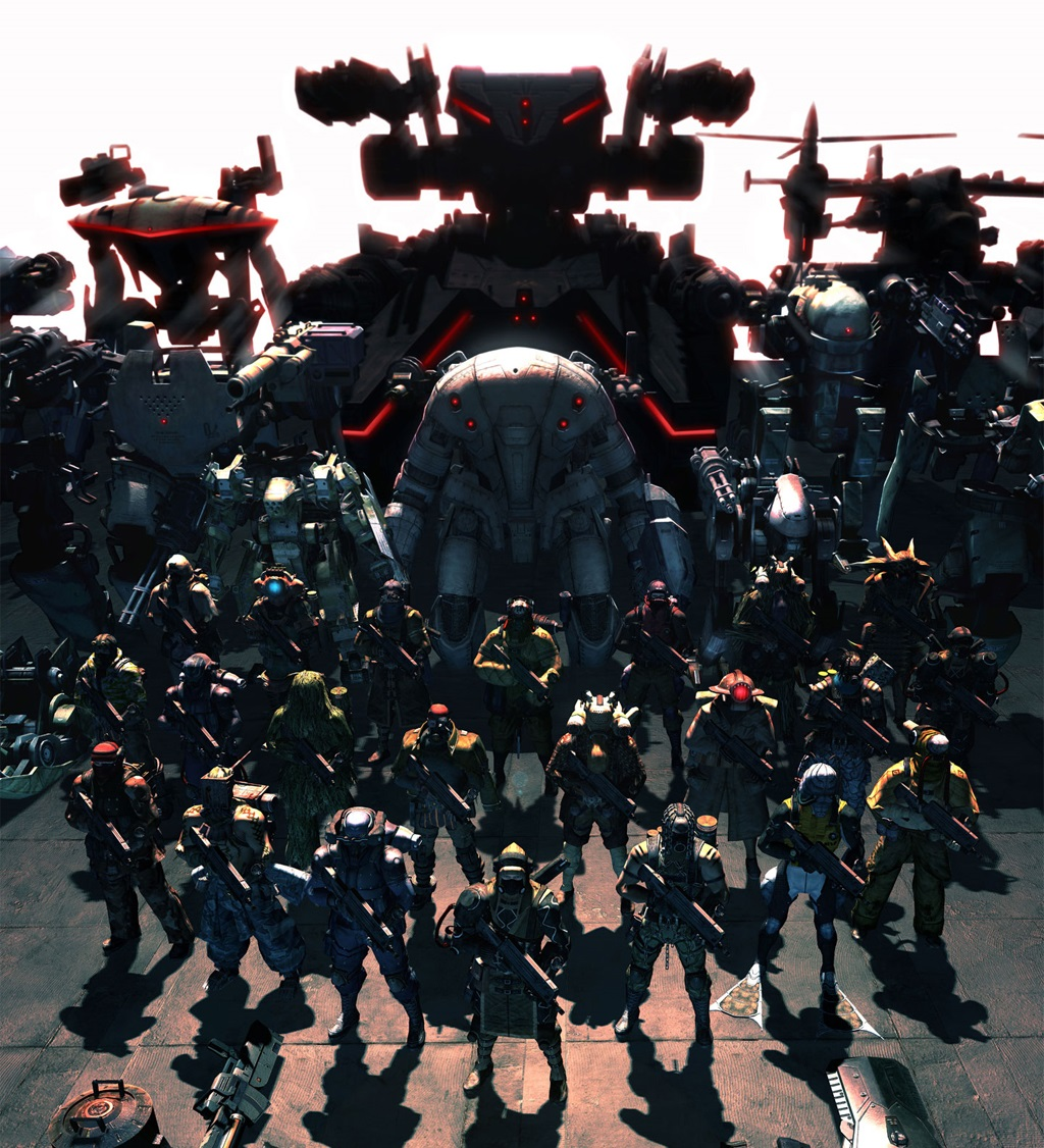 Lost Planet mechs