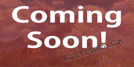 Coming Soon HEader